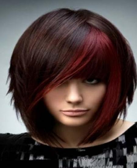 fashion show trendy hair color