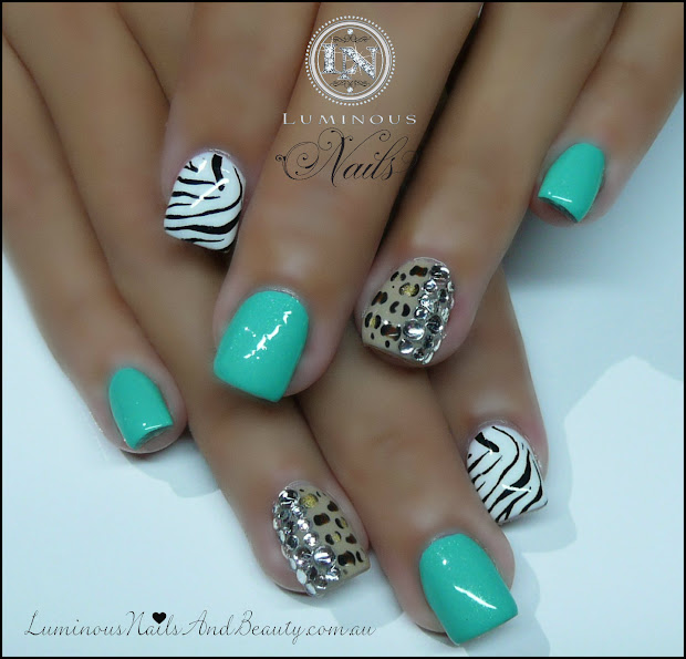 luminous nails february 2013