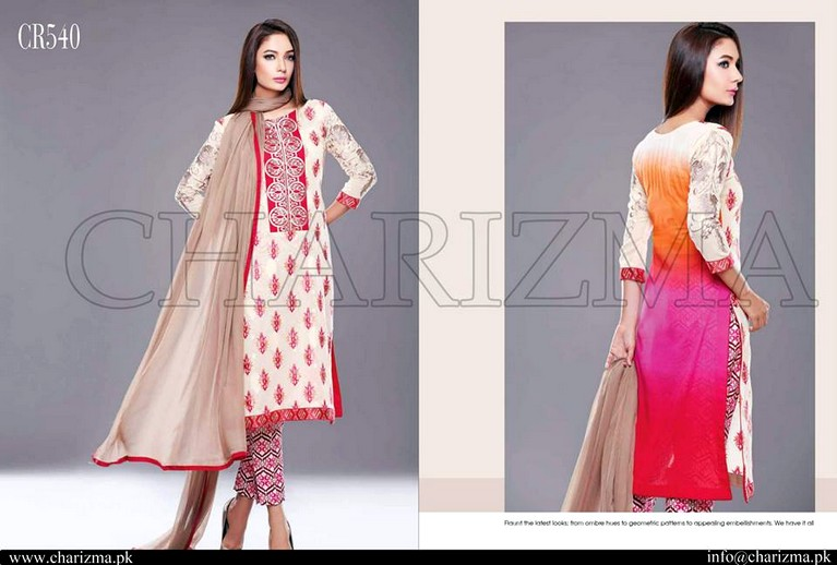 Charizma's Embroidered Swiss Voil & Lawn Dresses