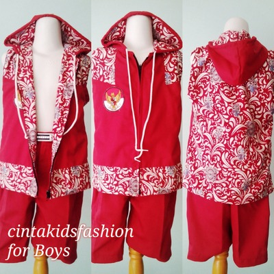 Trend Fashion Rompi Batik Pria Terbaru  Cinta Kids Fashion Show