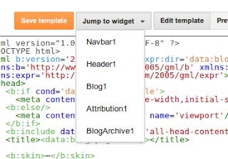 Blogger làm mới giao diện chỉnh sửa HTML (Edit HTML) với nhiều cải tiến mới