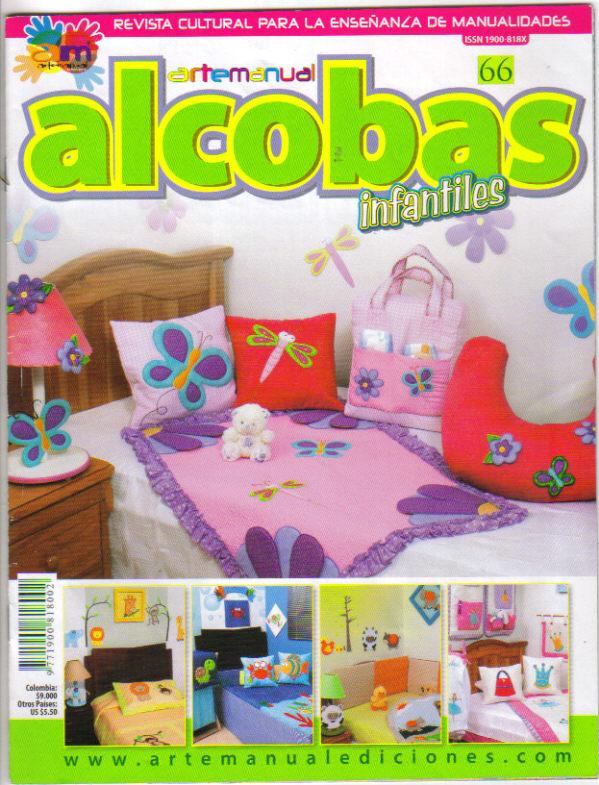 Revistas de Manualidades Para Descargar: Alcobas Nº 66