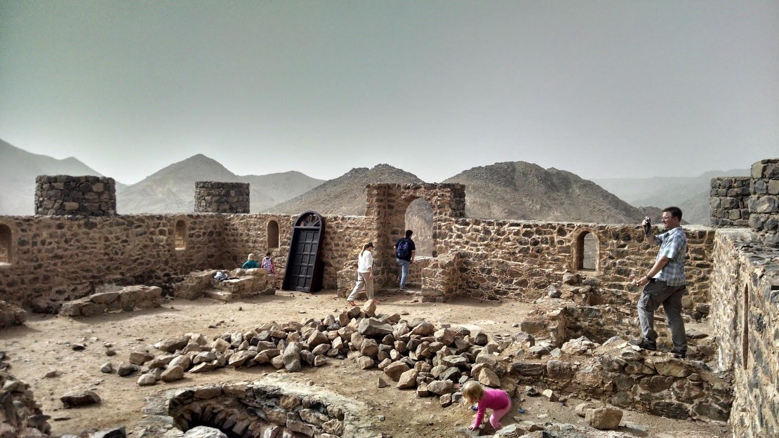 Wadi Usfan, Perlintasan Para Nabi