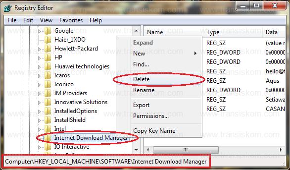 cara menggunakan idm fake serial remover
