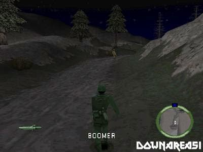 Army Men World War Team Assault PSX Game