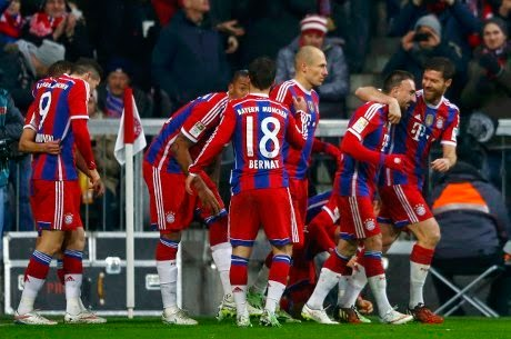 Bayern Munchen Menang Tipis Atas Leverkusen