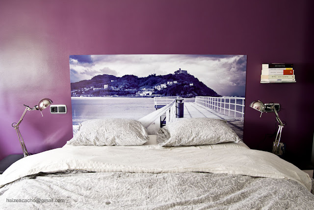 Cool spaces in donosti diy headboard cabecero de cama for Cabecero cama diy