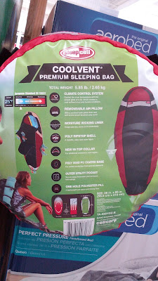 Temperature and Climate control with the Sleepcell Coolvent Premium Sleeping Bag