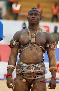 Mbeurkatt is the Wolof word for wrestlers