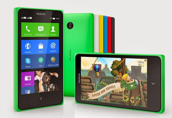 Nokia X adalah HP Cerdas Menengah