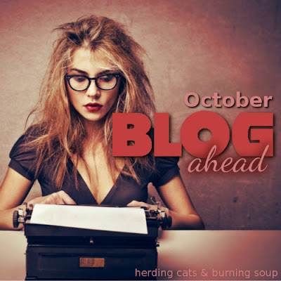 October Blog Ahead