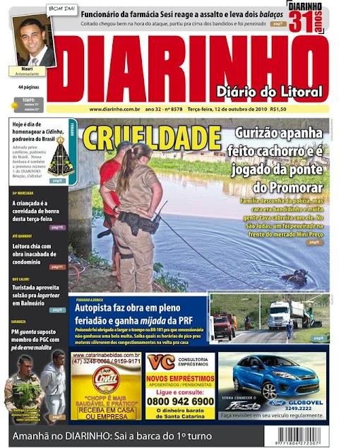 Sou capa de Jornal!