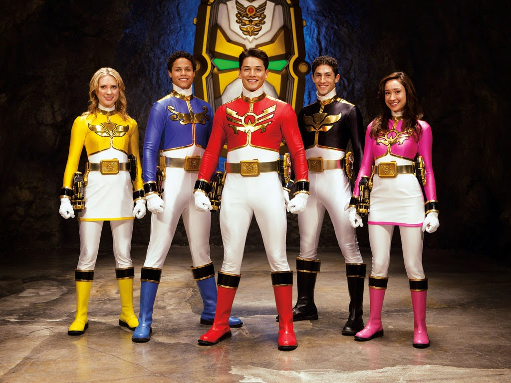 power rangers megaforce game