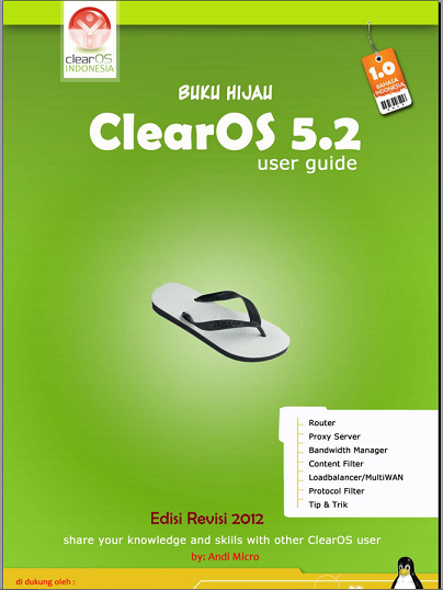 Buku Hijau ClearOS By Andi Micro