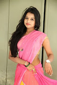 Bhavya Sri Photos in Pink Halfsaree-thumbnail-14