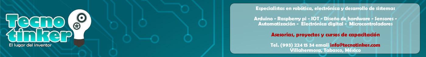 Tecnotinker - Electrónica digital, robótica y automatización