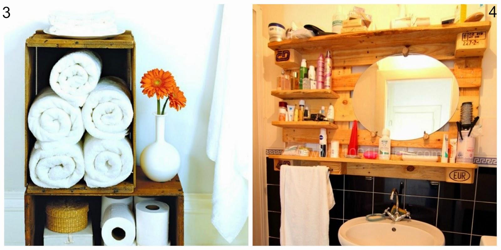 Riciclo pallet arredare il bagno a costo zero donneinpink magazine - Il bagno magazine ...