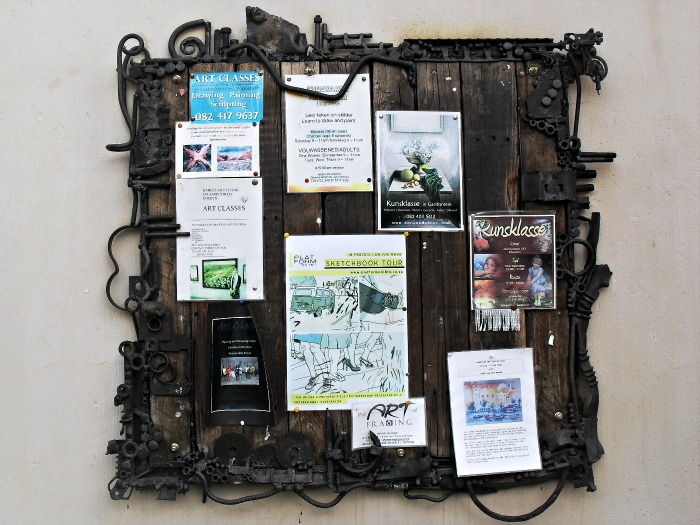 Rustic Notice Board