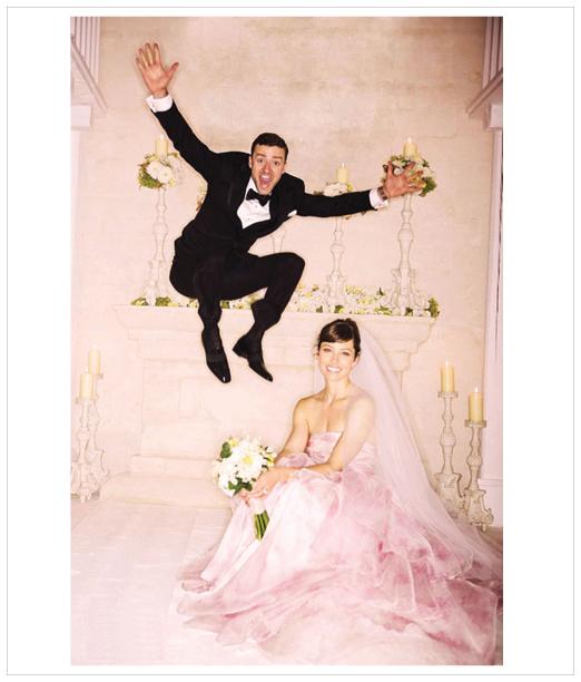 style} Jessica Biel\'s Couture Giambattista Valli Wedding Gown ...