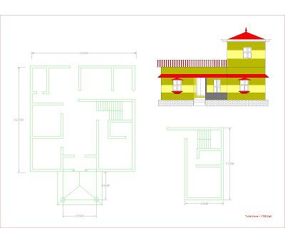 ENTE VEEDU - HOUSE PLAN - 12227