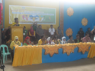 ARMM HELPS CONVERGENCE PROGRAM Launching at Brgy. Rantian