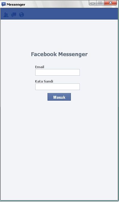 Facebook meluncurkan aplikasi facebook messenger