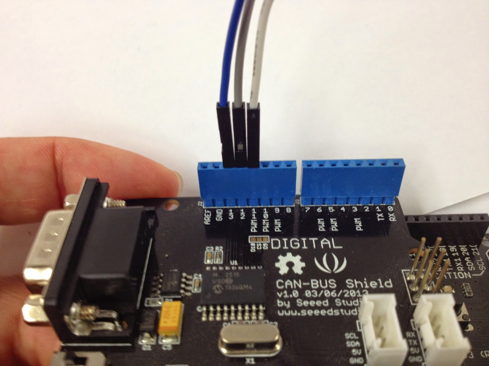 Arduino can bus shield своими руками
