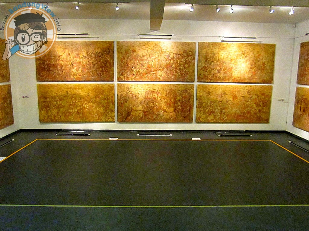 20 Lukisan Eddy Susanto - The passage of Panji - Lawangwangi