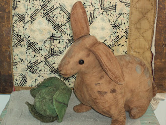Norma Schneeman Spotted Hare and Cabbage signed by Norma