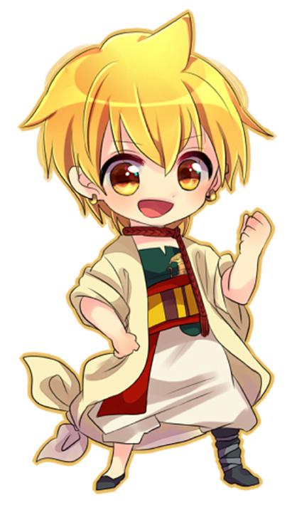 Anime Characters Chibi : Chibi character magi the kingdom of magic