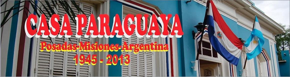 Casa Paraguaya - Posadas - Misiones - Argentina -1945 -