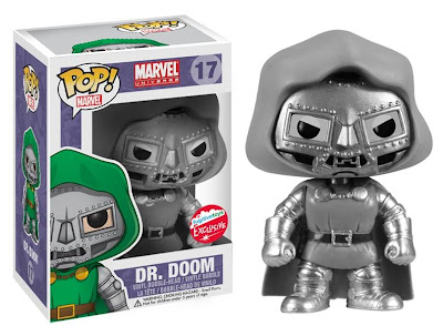San Diego Comic-Con 2013 Exclusive Black & White Dr. Doom Marvel Pop! Vinyl Figure by Funko