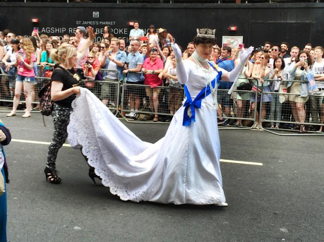 London Gay Pride Pictures 2015 - Bearded Couture