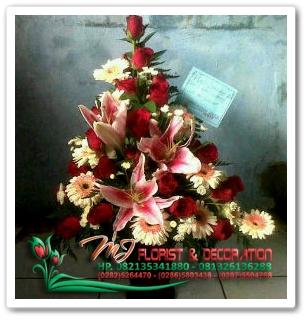 bunga mekar banjarnegara