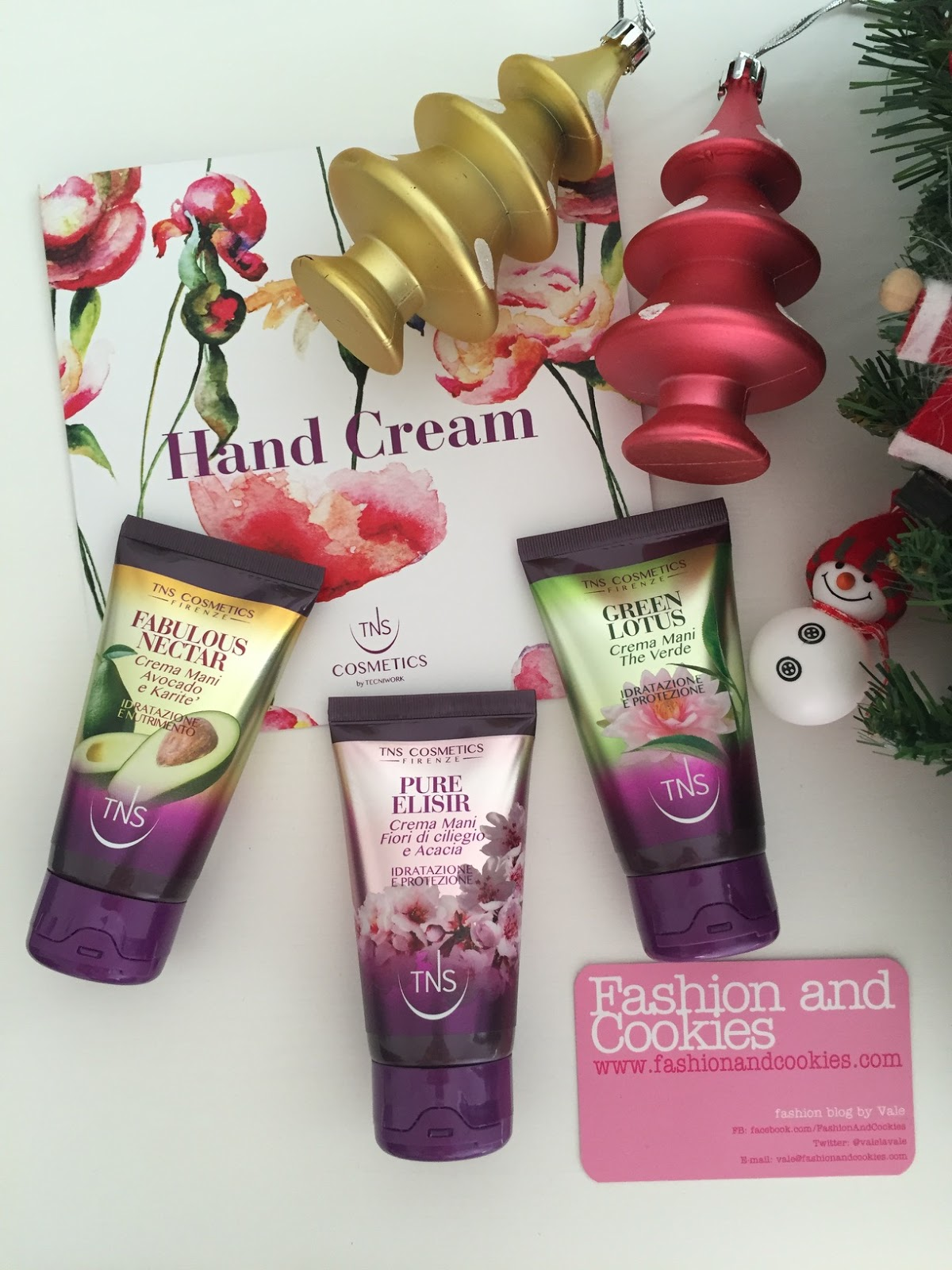TNS Cosmetics hand cream trio, creme mani TNS review su Fashion and Cookies beauty blog, beauty blogger