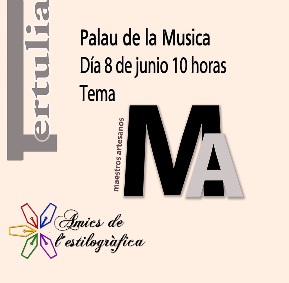 77 TERTULIA 8-6-2019 (MAESTROS ARTESANOS)