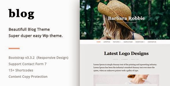 Best Responsive WordPress Blog Theme