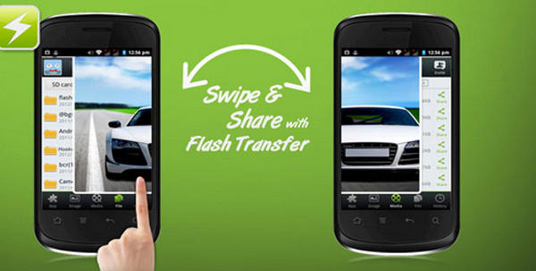 Flash Share App for Android