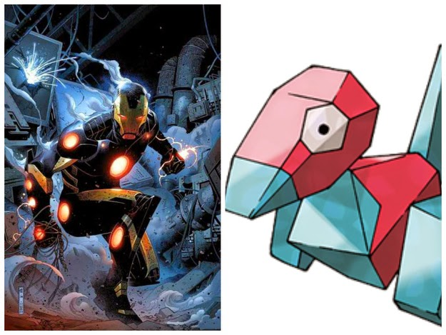 Iron Man - Porygon