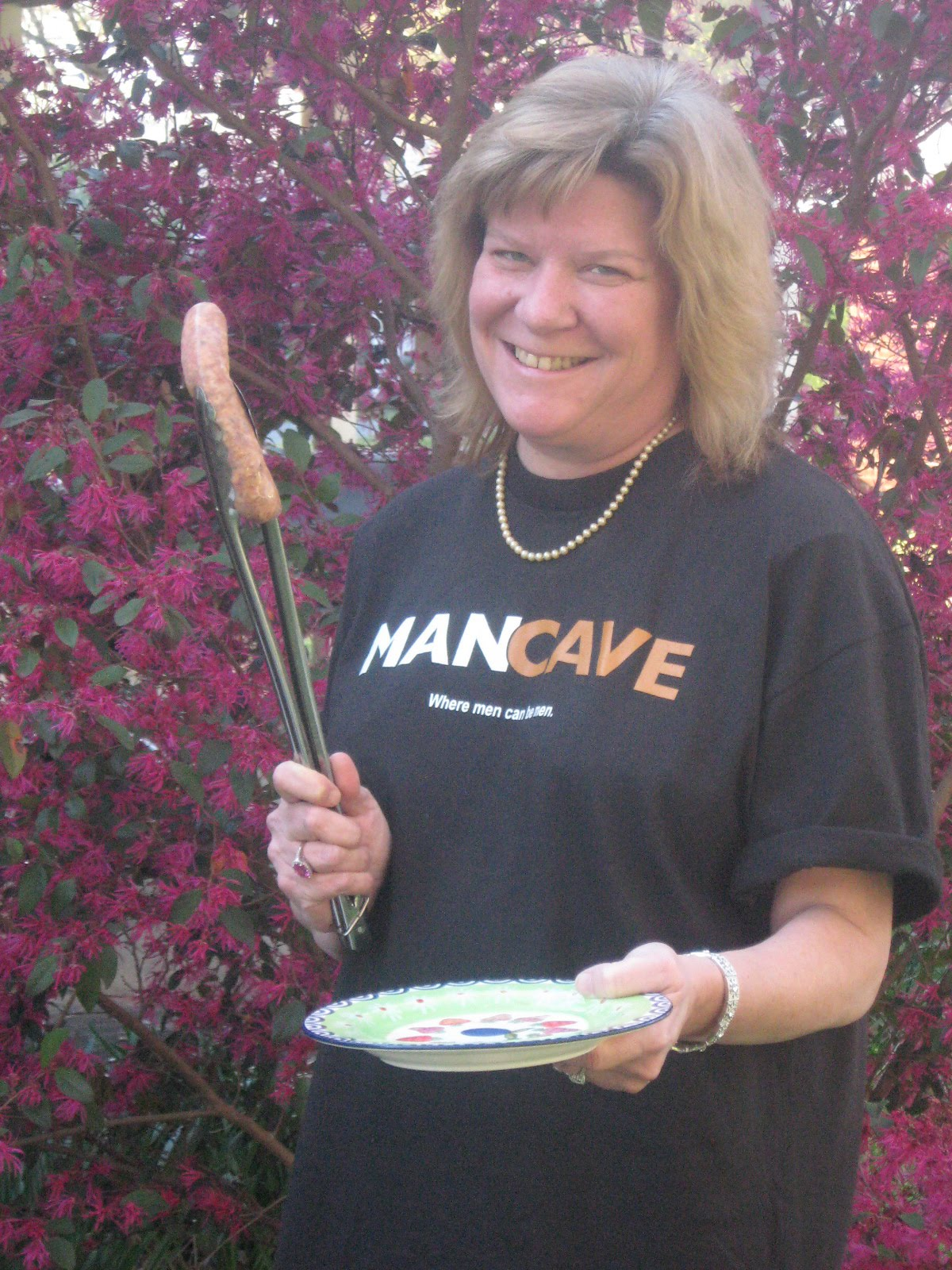 Man Cave Brats : Barbecue master april