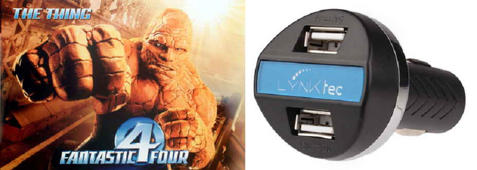 how do the new LYNKtec products compare to Fantastic Four characters
