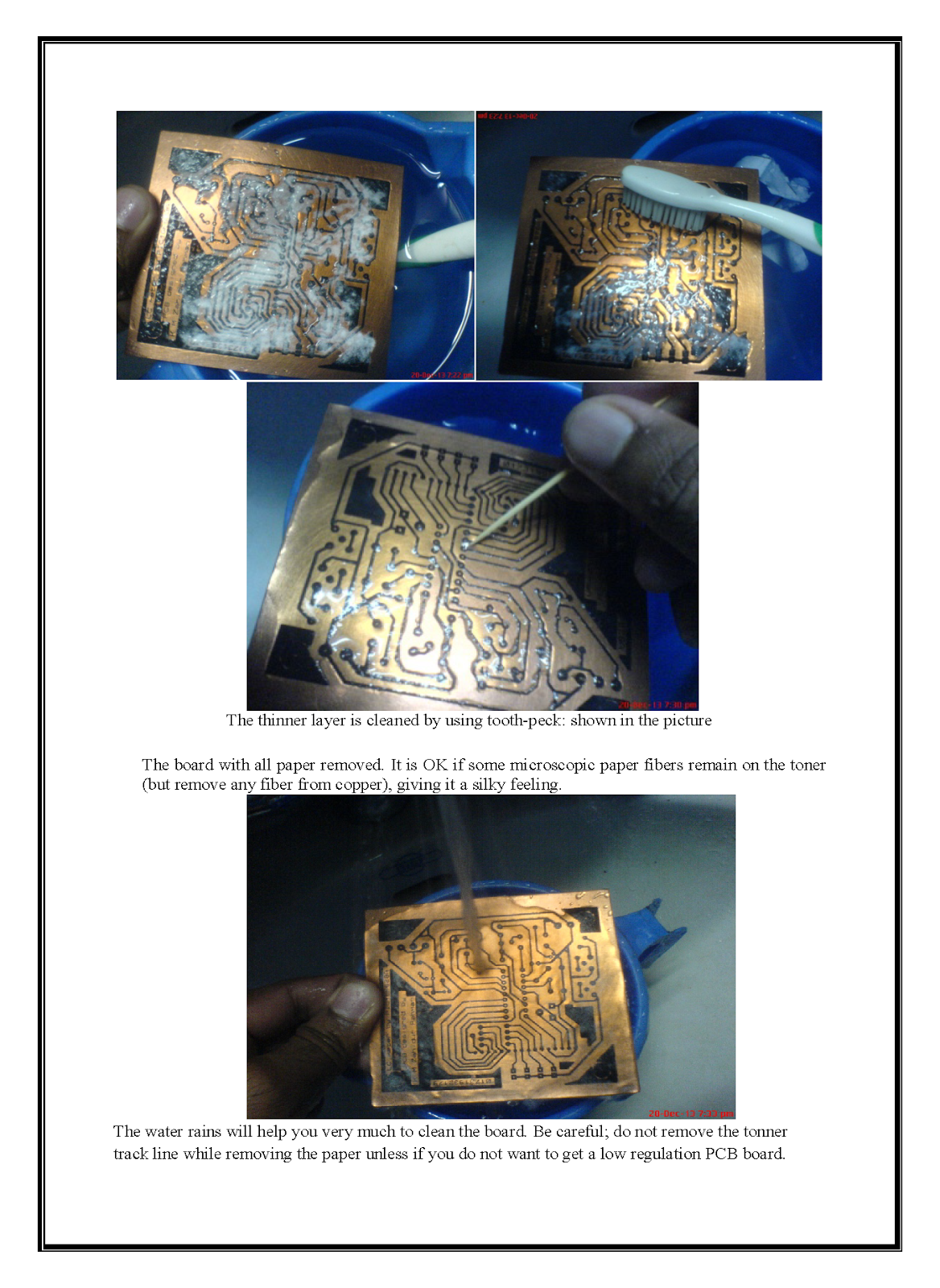 Making Pcb At Home Printed Circuit Board Print Your Mobile Phone Okey China Layout On A Copper And Want To Make Custom Then My This Attached Hand Note Will Help You Dream Come True