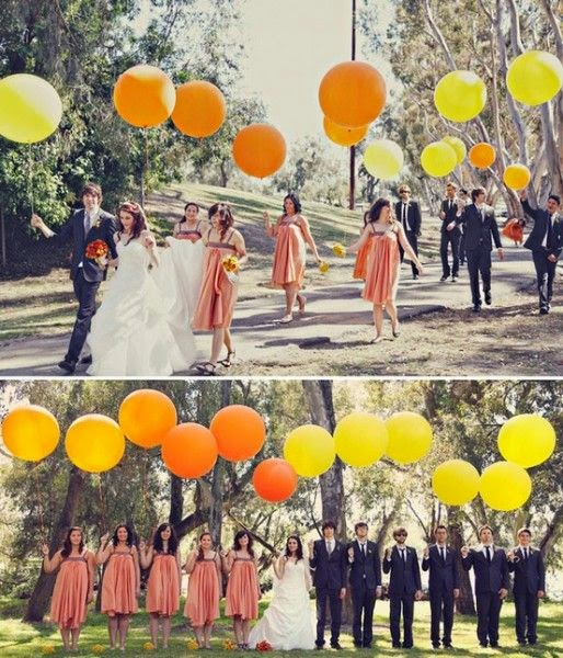 globos en bodas