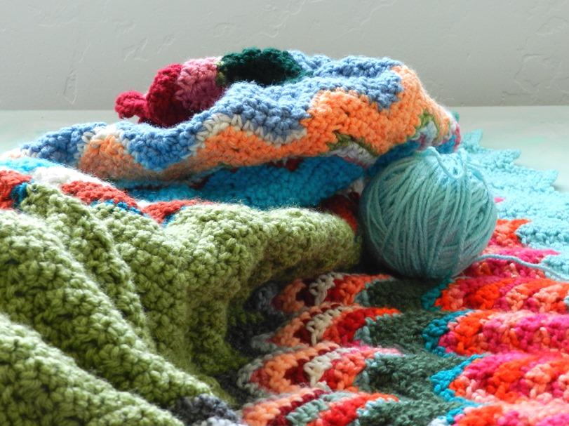 Crochet Zig-Zag Chevron Blanket