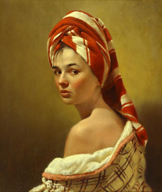 Portrait Paintings by Nikolai Shuryguin