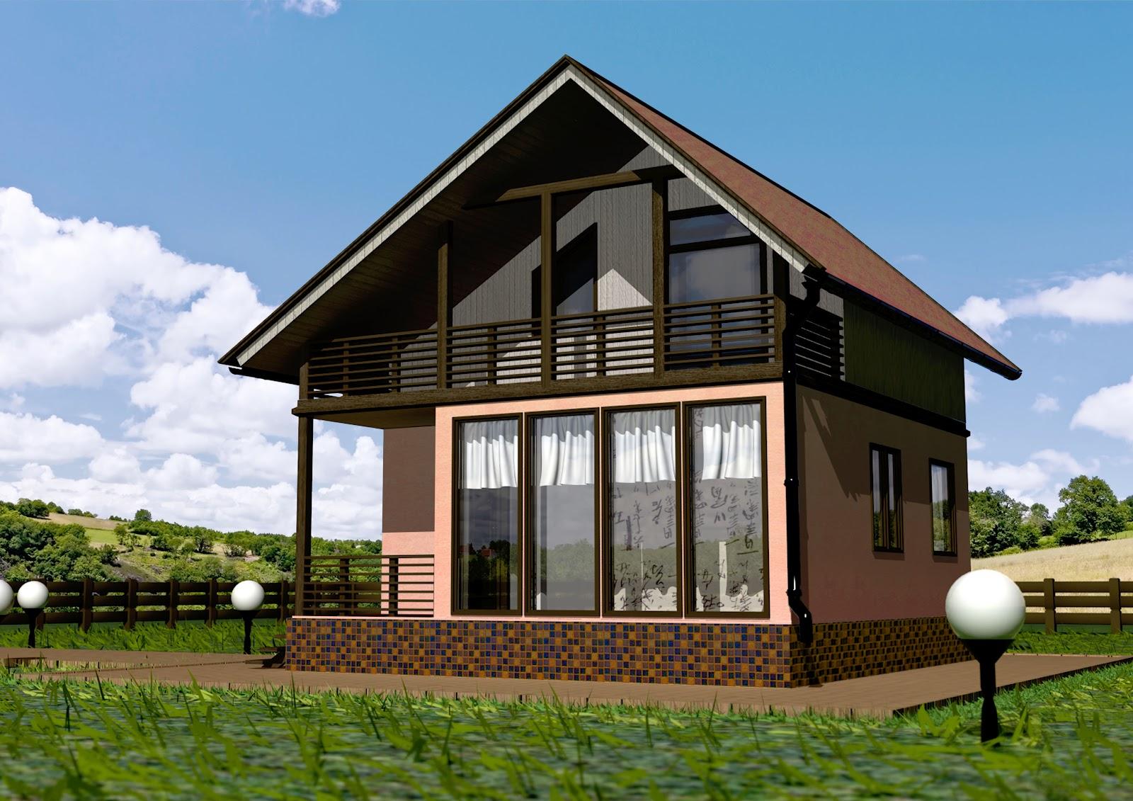 панельные частные дома на фото