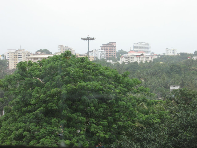 High rises in Mangalore as seen from Bharath Mall