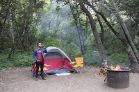 Big Sur camping Pfeiffer State Park #billyrachelrose