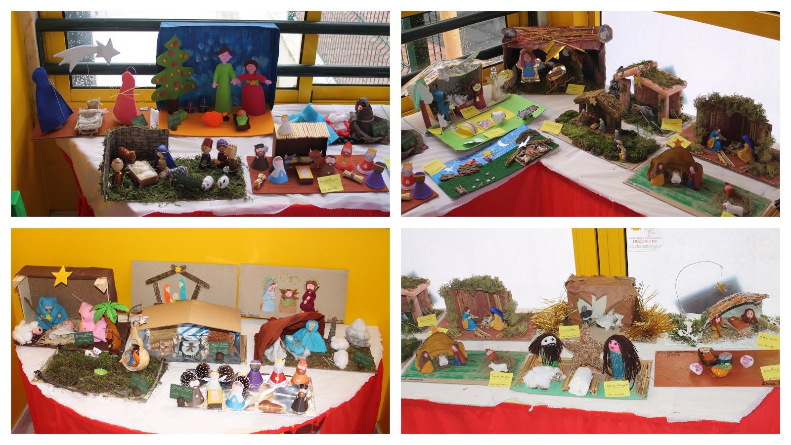 imagens jardim infancia:Os presépios que as nossas queridas famílias realizaram.