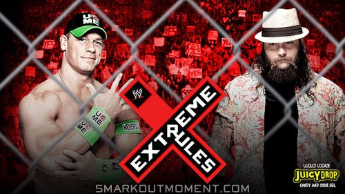 Watch WWE Extreme Rules 2014 Steel Cage Match Cena vs Wyatt